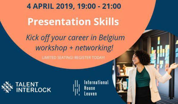 Talent Interlock Presentation Skills 2019 04 04